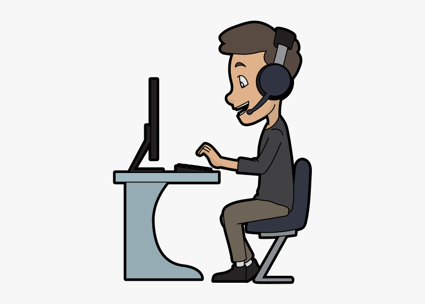 473-4734048_computer-user-talking-and-typing-relaxed-guy-on