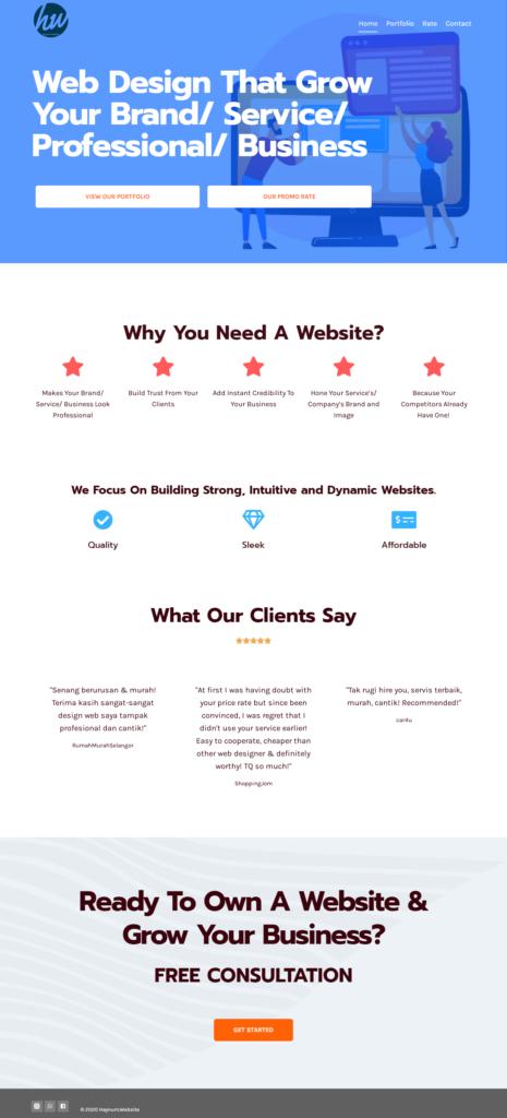 Haynum Website