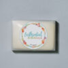 Botanical soap bar packaging mockup